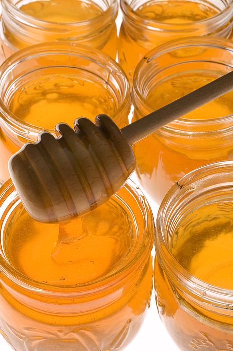 Honey Photograph - Jarrs Of Honey by Garry Gay