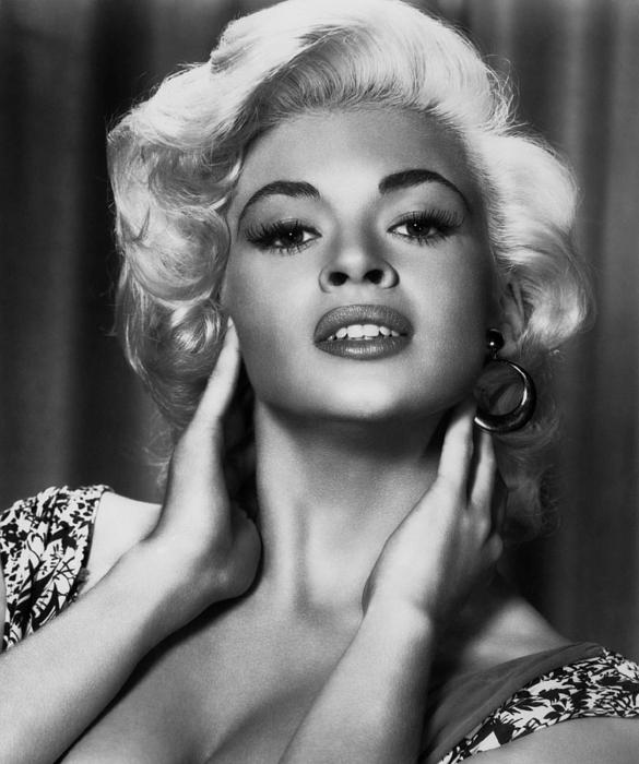 Mansfield Photograph - Jayne Mansfield, Ca. 1950s by Everett