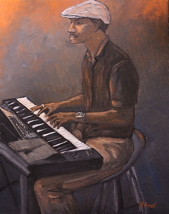 Jazz Painting - Jazz by Reb Frost