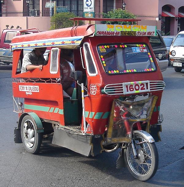 Jeepney Photograph - Jeepney 05 by Mike Holloway