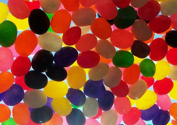 Jellybeans Photograph by Anna Villarreal Garbis