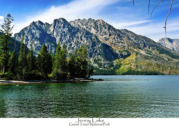 Jenny Lake Photograph - Jenny Lake by Greg Norrell