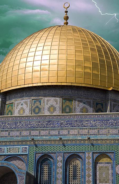 Jerusalem Photograph - Jerusalem - Dome Of The Rock by Munir Alawi
