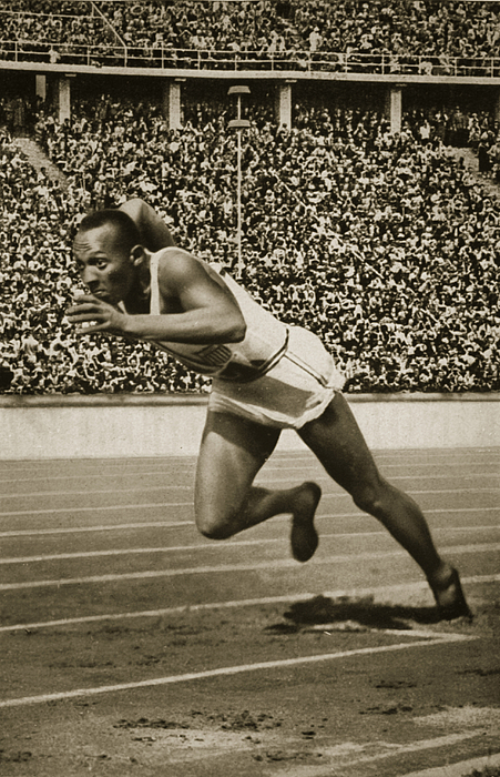 Track And Field Photograph - Jesse Owens by American School