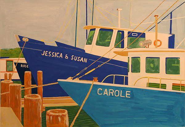 Marine Painting - Jessica And Susan by Biagio Civale