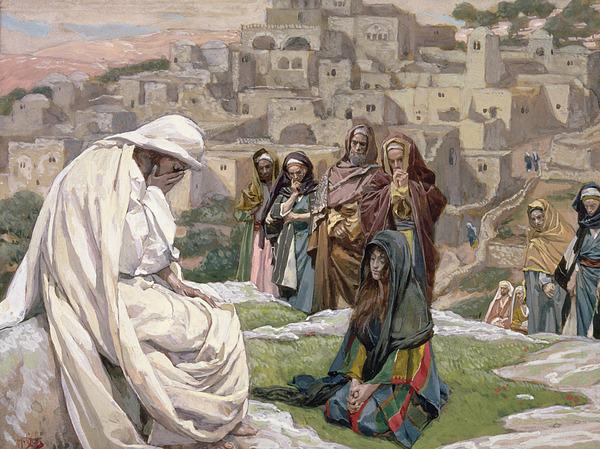 Jesus Painting - Jesus Wept by Tissot
