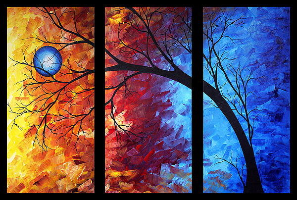Painting - Jewel Tone II By Madart by Megan Duncanson