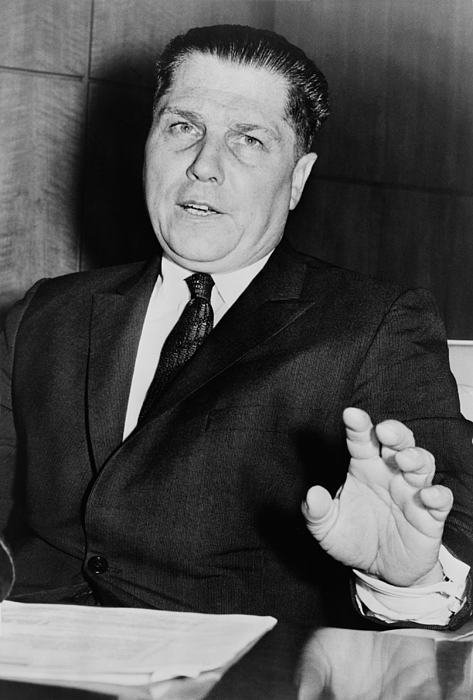 History Photograph - Jimmy Hoffa 1913-1975, Tough President by Everett