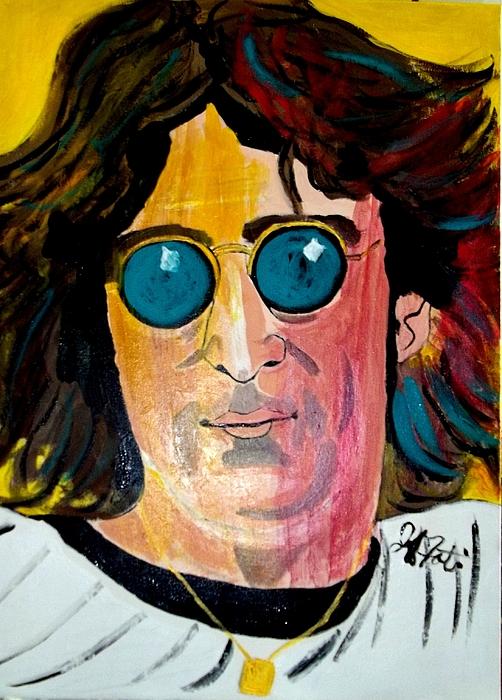 J.l. Painting by Jeffrey Foti