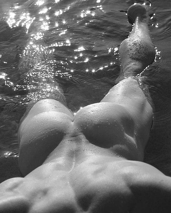 Male Nude Figure Study Photograph - Jody IIi by Dan Nelson
