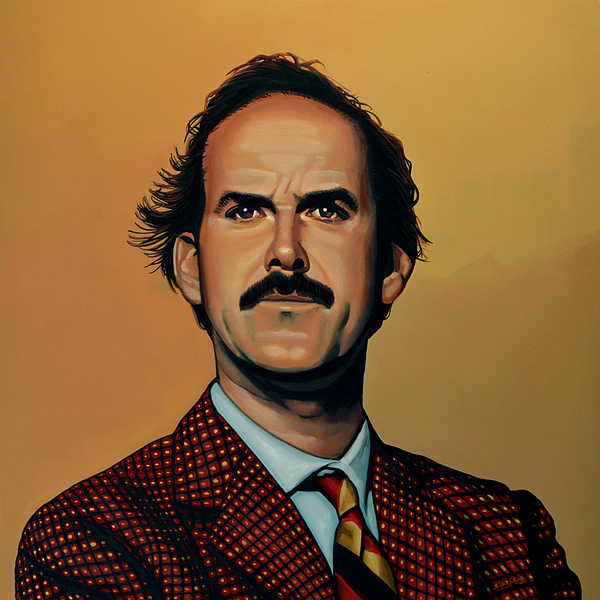 John Cleese Painting - John Cleese by Paul Meijering
