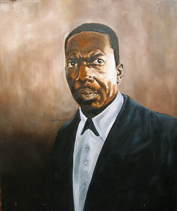 John Coltrane Painting by Martel Chapman
