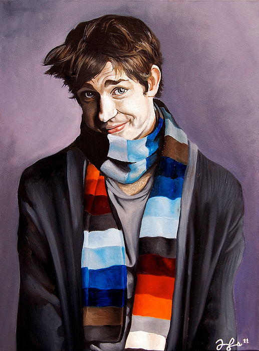 John Krasinski Painting - John Krasinski by Emily Jones