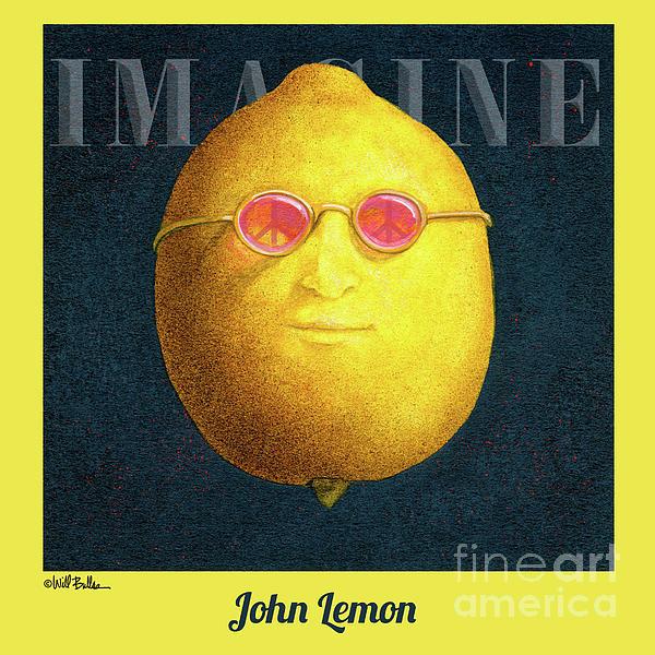Lemon Painting - John Lemon... by Will Bullas