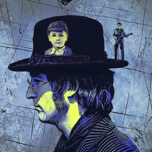 Portrait Digital Art - John Lennon by Russell Pierce