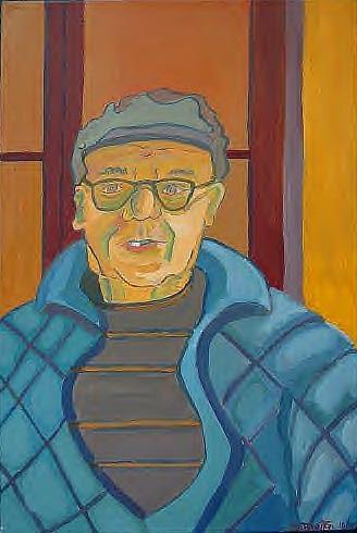 Portrait Painting - John Paris by Debra Bretton Robinson