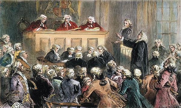 1735 Photograph - John Peter Zenger Trial by Granger
