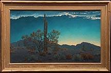 John W Hilton La Mananita Painting by John W Hilton