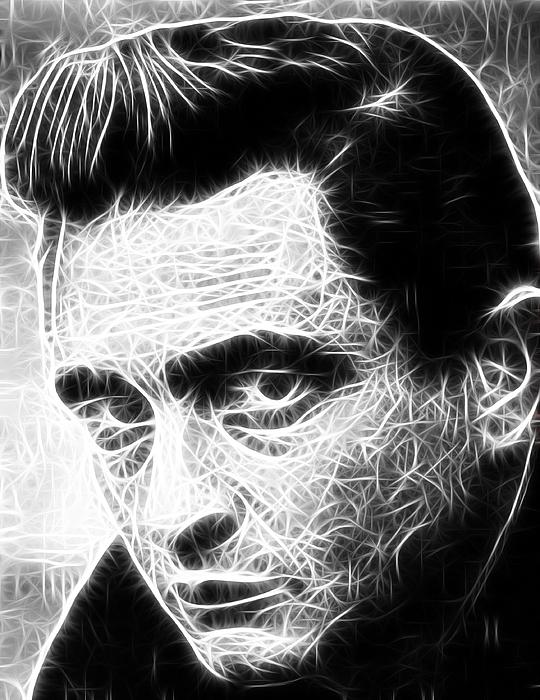 Johnny Cash Digital Art - Johnny Cash by Paul Van Scott