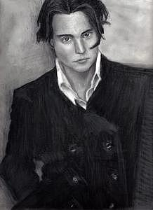 Johnny Depp Drawing - Johnny Depp The Best Portrait I Have Done by Katie Alfonsi