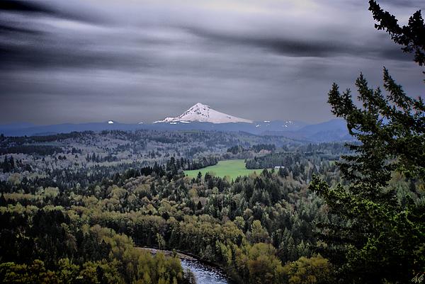 Mount Hood Mixed Media - Jonsrud Viewpoint by John Winner