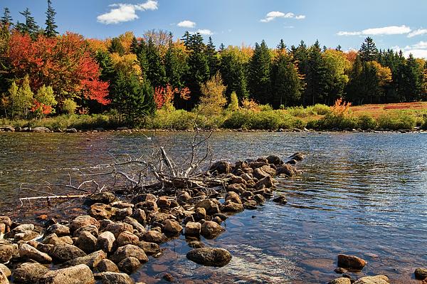Landscape Photograph - Jordan Pond by Alexander Mendoza