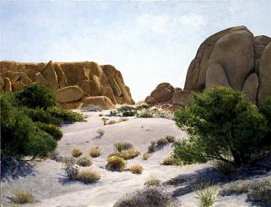 Desert Painting - Joshua Tree National Monument by Laura Wynne
