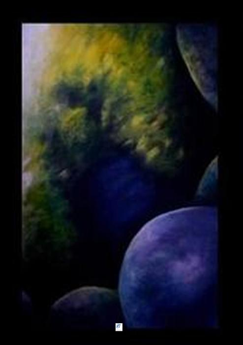 Whole Systems Painting - Journey 2 by Carol Rashawnna Williams