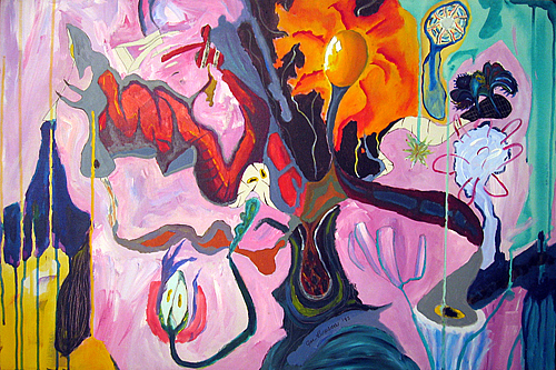 Abstraction Painting - Jubilation Of The Eye-spring by Jody Brusca