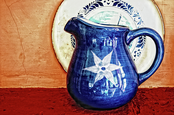 Jug Photograph - Jug by Charuhas Images