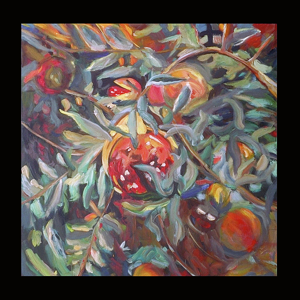 Painting Painting - Juicy by Kim Fay