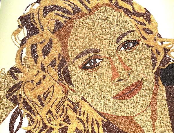 Portrait Relief - Julia Roberts by Kovats Daniela