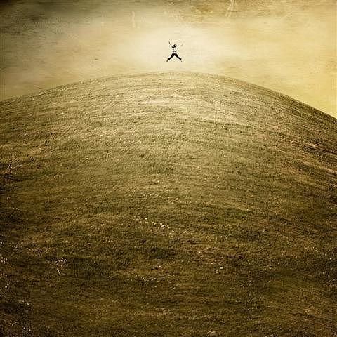 Jump Digital Art by Luis  Beltran