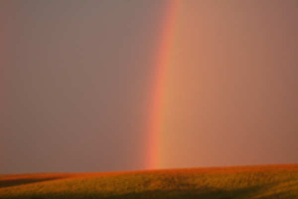 Colorful Photograph - June Rainbow by Linda Ostby