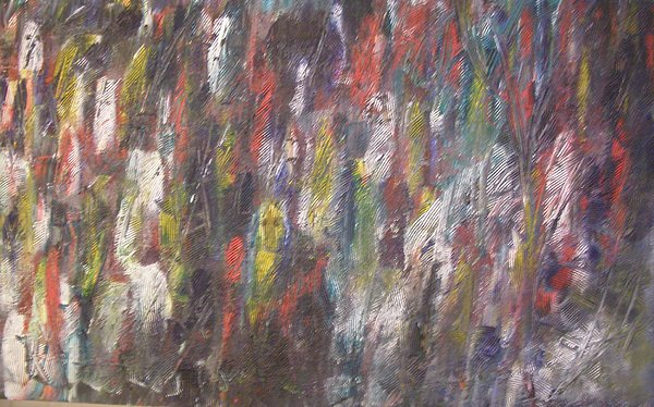 Abstract Painting - Jungle Spirits by Don Phillips