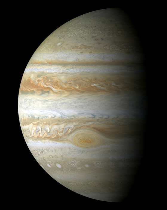 Color Image Photograph - Jupiter Mosiac by Stocktrek Images