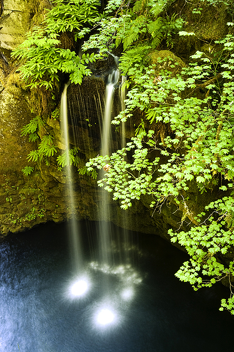 Waterfall Photograph - Just A Trickle by Michael Wells
