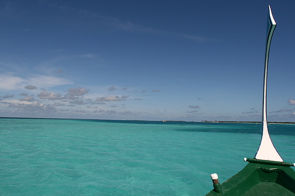 The Maldives Photograph - Just Sea And Skies by Andrei Fried