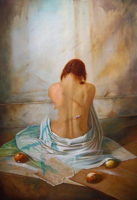 Paintings Painting - K299.andantino by Vaidotas Bakutis