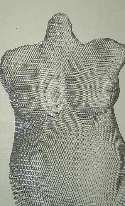 Steel Sculpture - Kara 2 by Steve Mudge