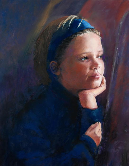 Portrait Painting - Katherine by Jeanne Rosier Smith