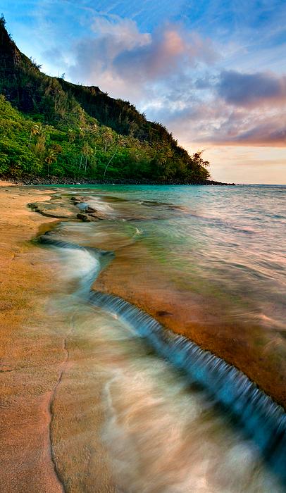 Kauai Photograph - Kauai Shore by Monica and Michael Sweet