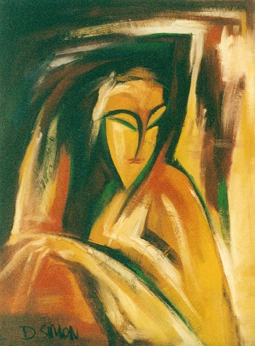 Keckelka Painting by David Simon
