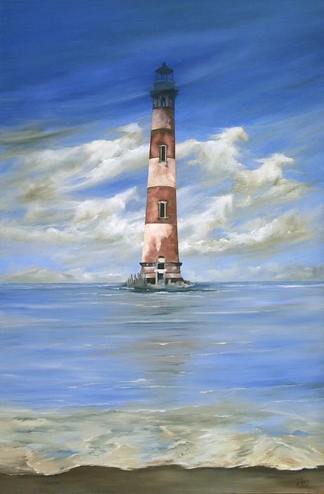 Lighthouse Painting - Keepers Of The Light by Kathie Henry
