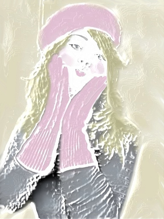 Keina Painting by Emna Bonano