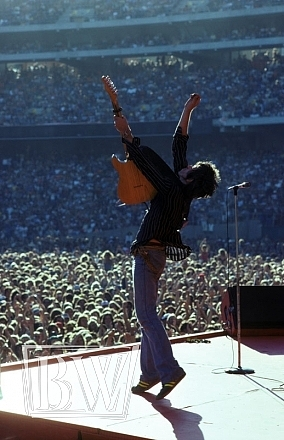 Rolling Photograph - Keith Richards by Baron Wolam