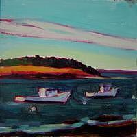 Maine Coast Painting - Kettle Cove I by Elizabeth Fraser