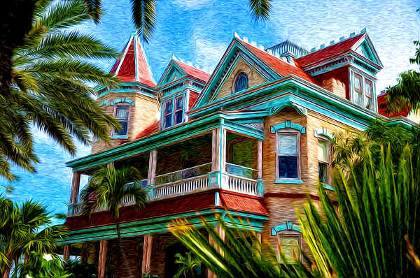 Key West Photograph - Key West Southern Most Hotel by Bill Cannon