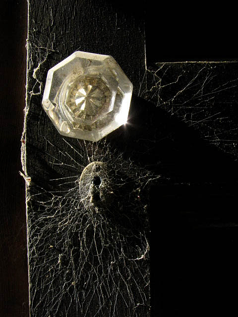 Door Photograph - Keyholes And Cobwebs by Jessica Brawley
