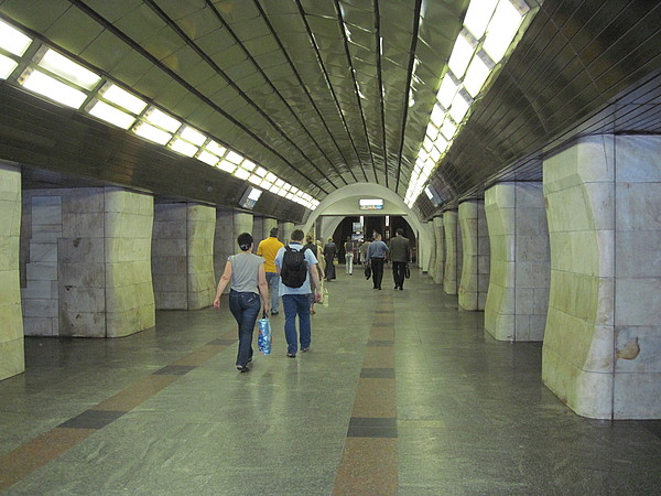 Kiev Photograph - Kiev Subway Station Photo 3 by Kostyantyn Serodkin
